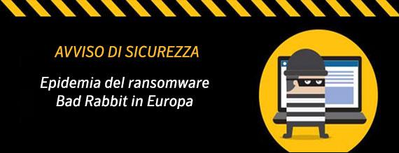 Bad Rabbit il nuovo ransomware