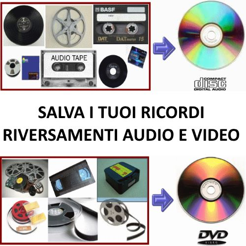Riversamenti video audio
